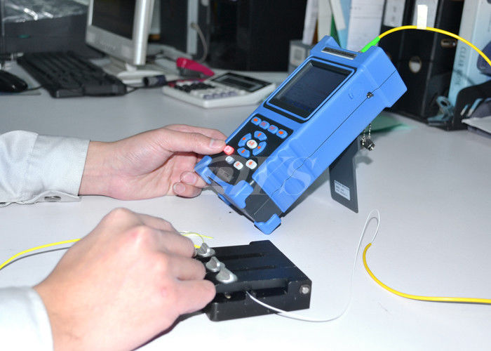 Chiny Multi Language Palm Checking Fiber Optic Test Equipment / Optical Cable Tester DYS3028 dostawca