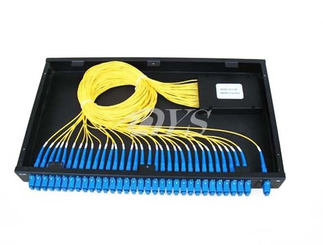 1 x 32 PLC Optical Fiber Splitter SC / UPC Connector , Network Redundancy dostawca