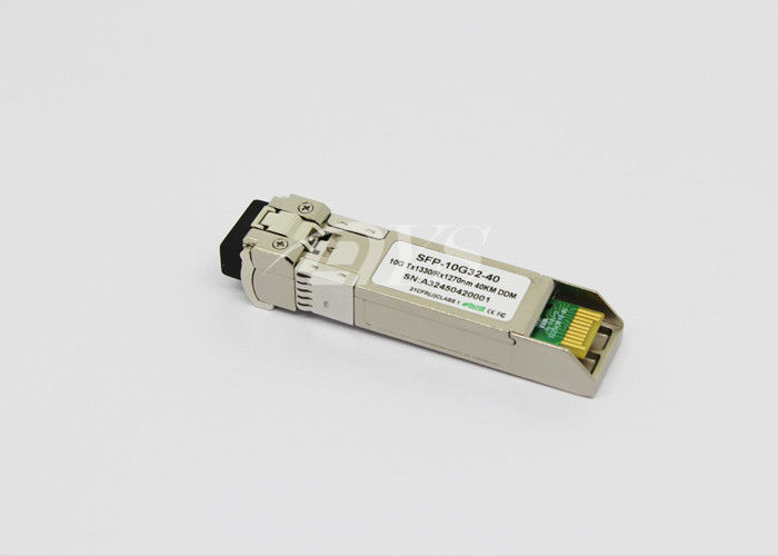 Chiny RoHS Compliant 10Gb/s SFP+ Bi-Directional Transceiver, 40km dostawca